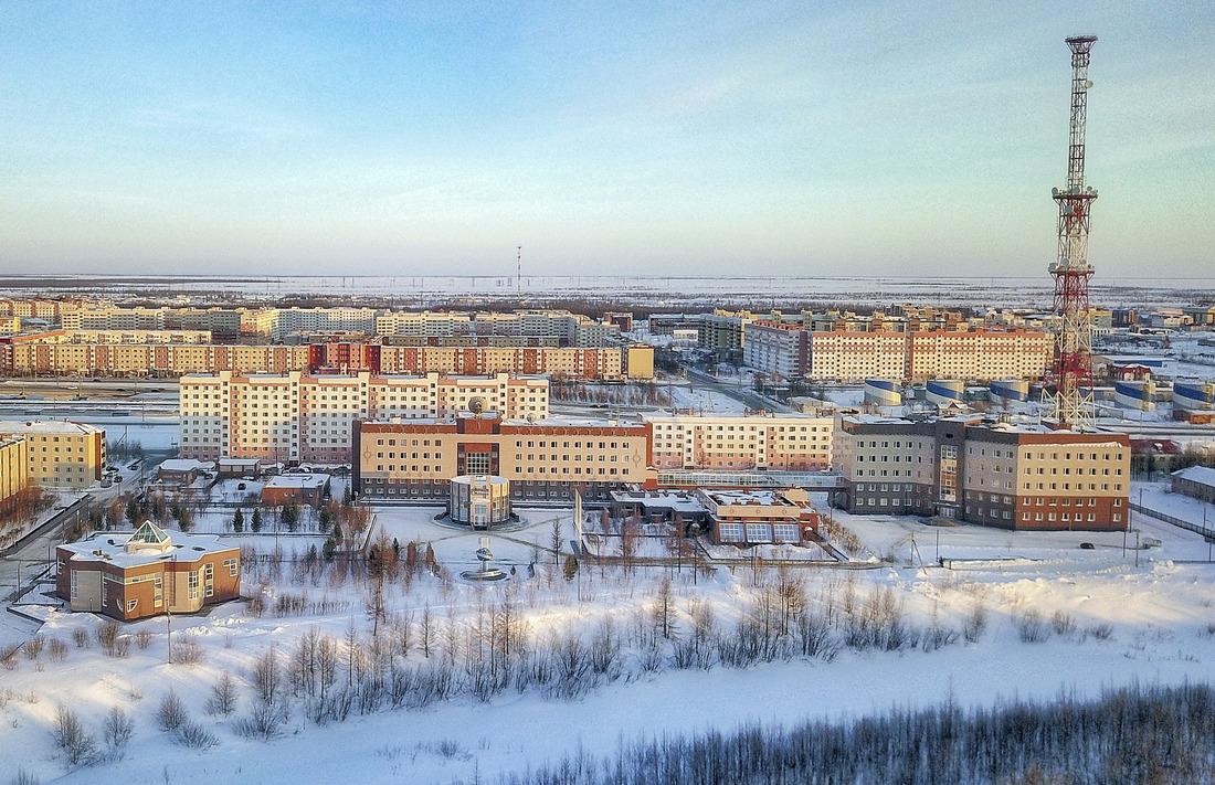 Административное здание ООО«Газпром добыча Уренгой»