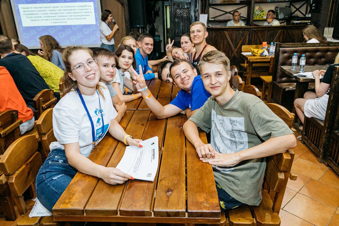В рамках научно-образовательного блока студенты приняли участие винтеллектуальных викторинах. Фото организаторов мероприятия