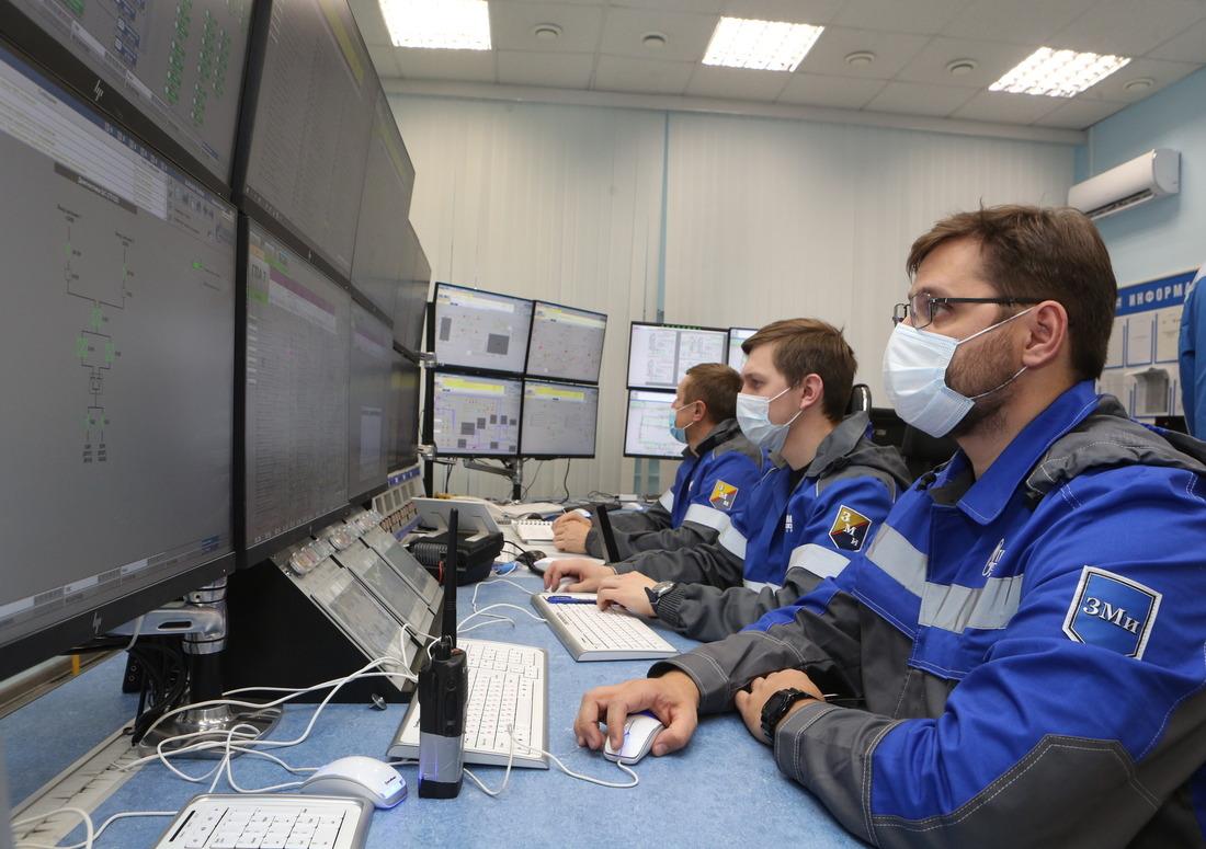 Диспетчерская дожимной компрессорной станции наустановке комплексной подготовки газа 2В