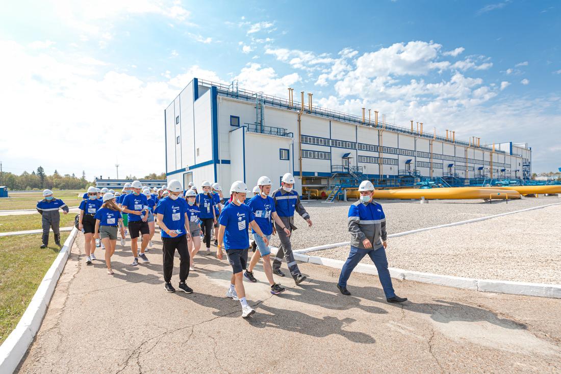 Участники слета ознакомились сработой промышленных объектов Башкортостана. Фото организаторов мероприятия