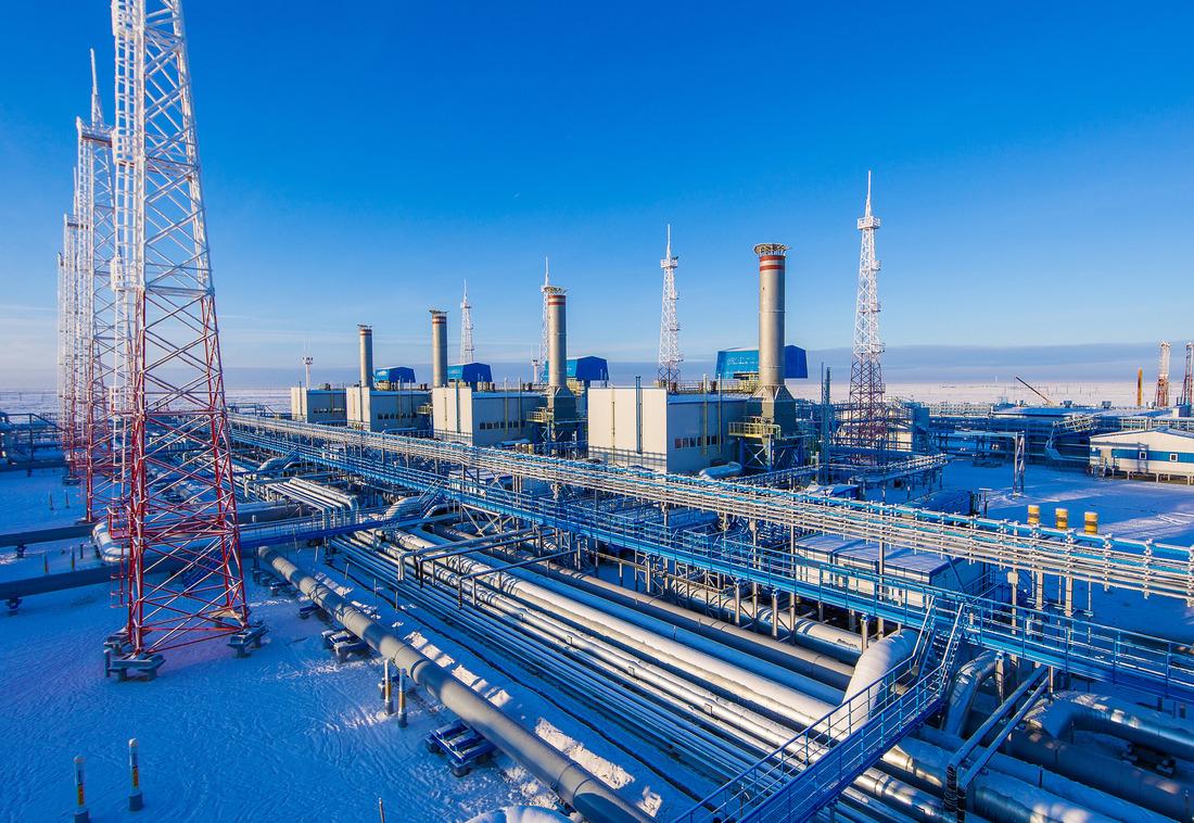 Установка комплексной подготовки газа—16 Уренгойского газопромыслового управления ООО«Газпром добыча Уренгой»