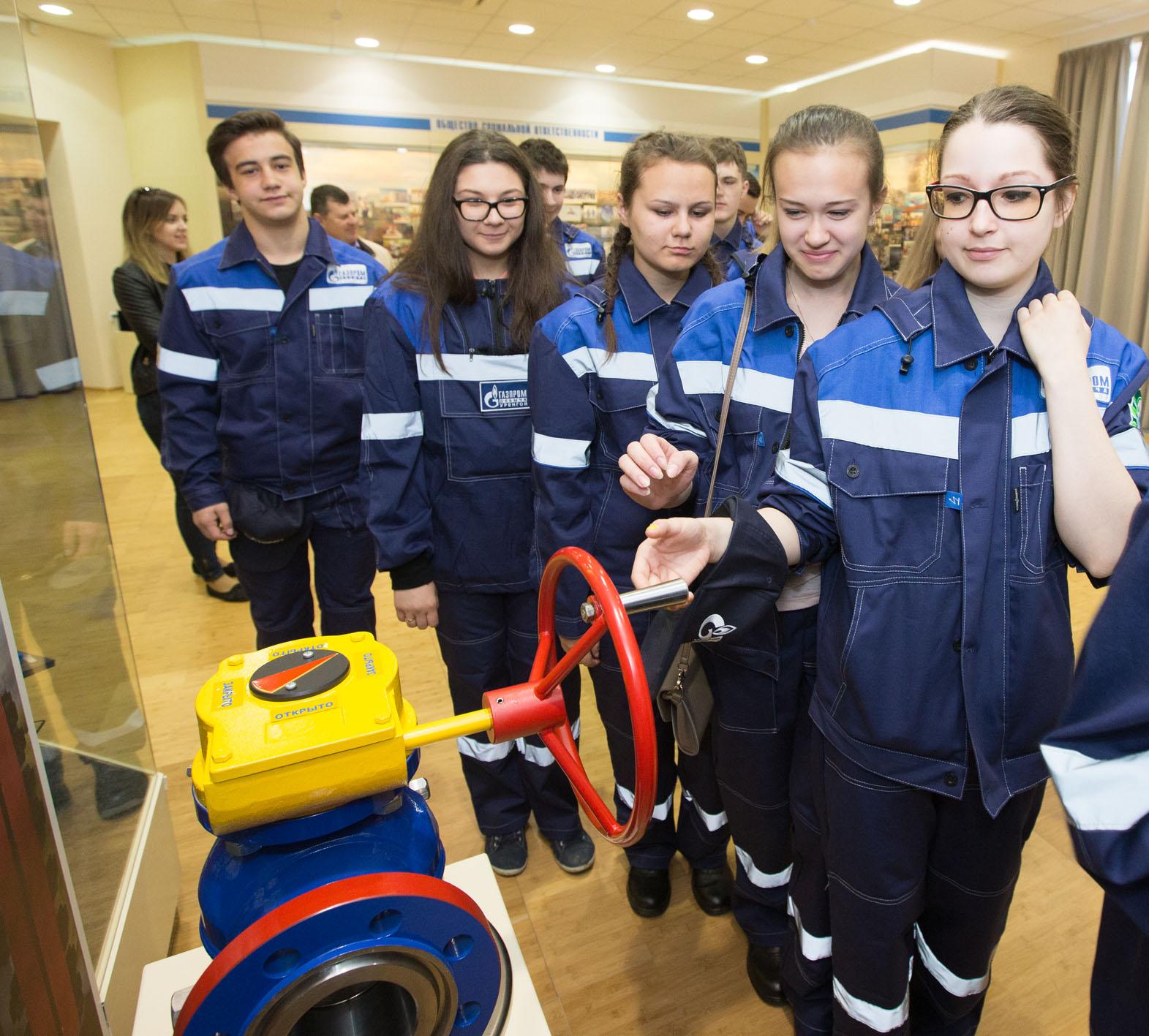 Работа в газпроме для девушек работа в абакан