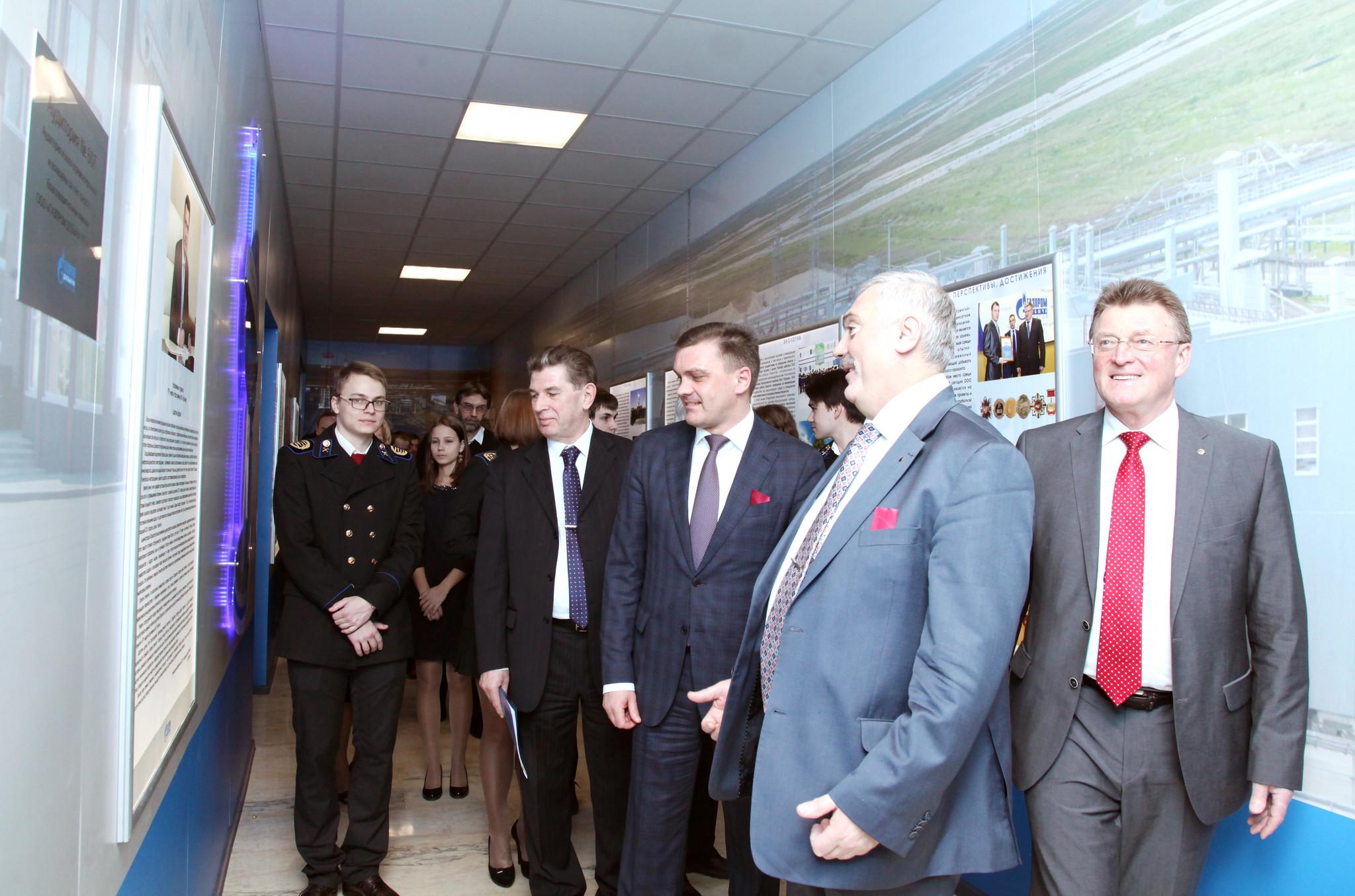 Аудитории ООО Газпром добыча Уренгой в РГУ нефти и газа имени И  Увеличенная фотография jpg 630 КБ